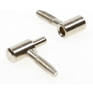 Inboorpaumelle 14x48mm - nikkel