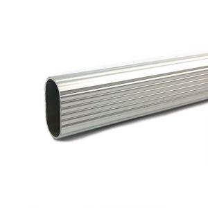 Kastroede Zilverkleurig Ovaal 1000mm Aluminium