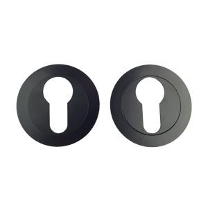 Rozet 50mm zwart