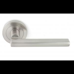 RVS deurkruk MARIO - rozet