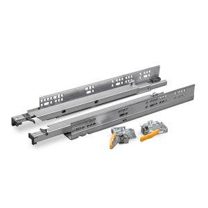 Softclose + push to open ladegeleiders 450mm - bodemmontage